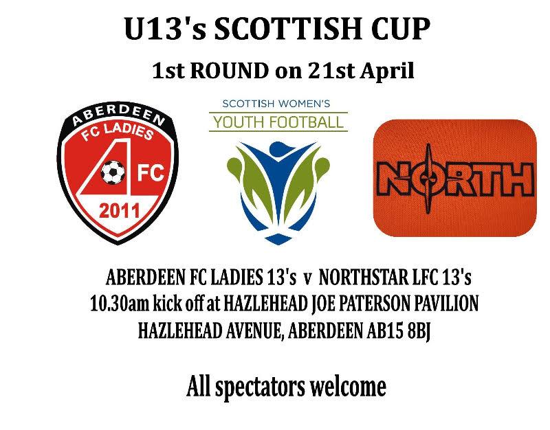 online retailer dcffe 0a974 Aberdeen 13s v Northstar 13s on 21st April 2018 - Aberdeen ...