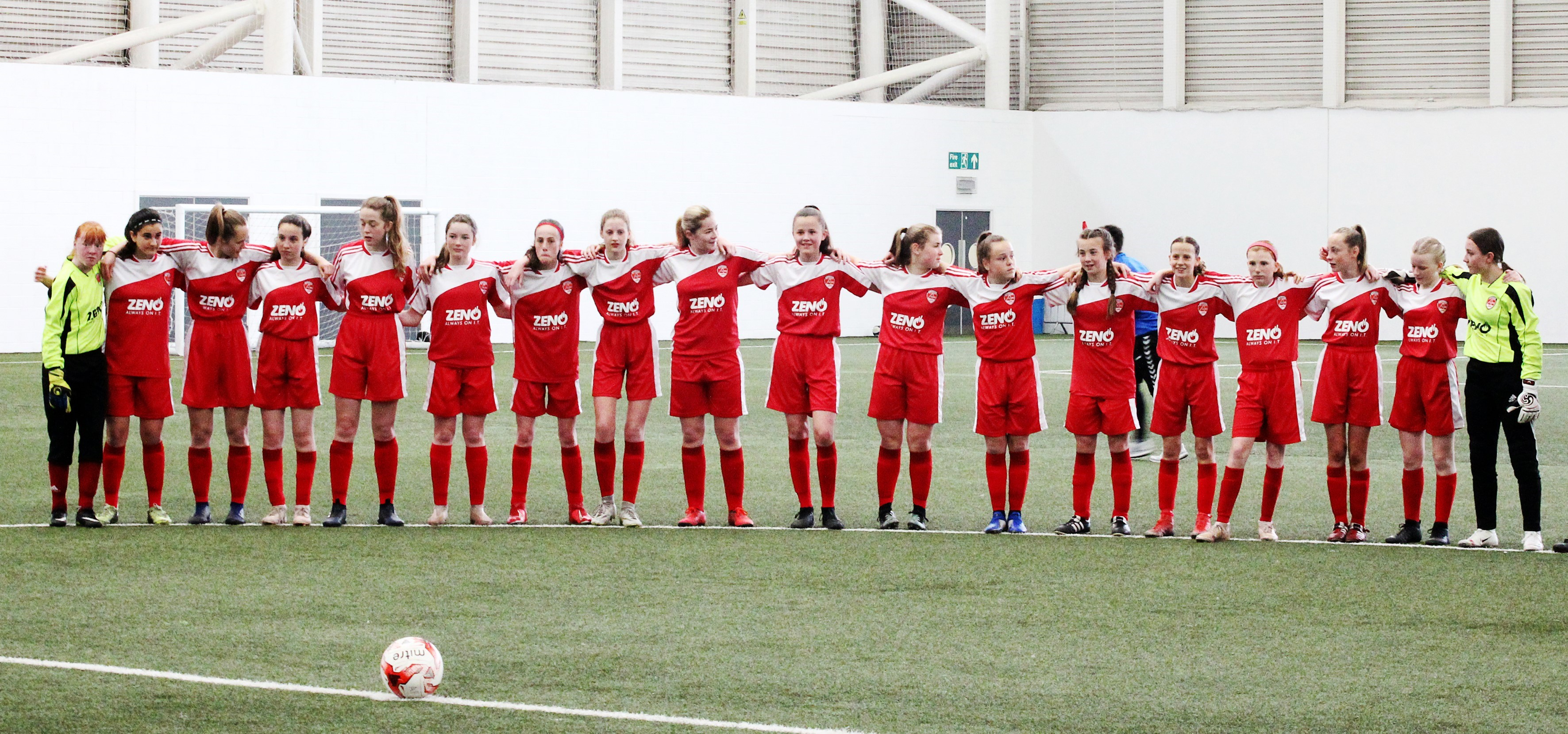 Aberdeen FC Ladies u15s Reds