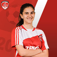 Ladies 15s Reds Adela Gomez Ruiz-PASS