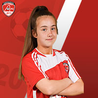 Ladies 15s Reds Madison Finnie-PASS